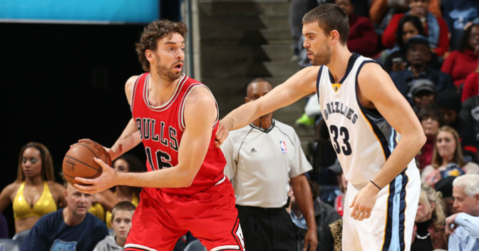 Marc y Pau, fuera del All-Star