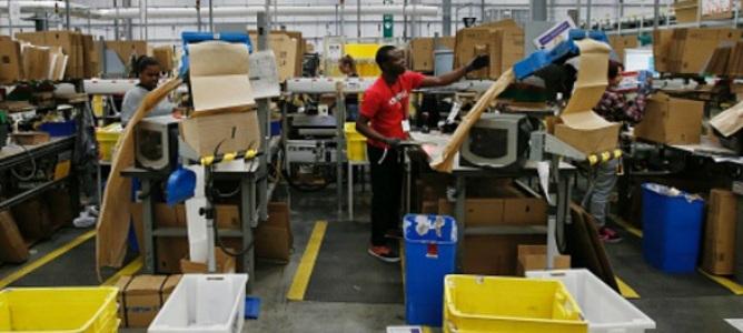 Amazon prueba una semana laboral de 30 horas