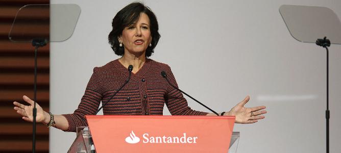 Santander sube el dividendo un 5%, hasta los 0,21 euros por acción