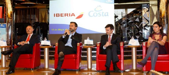 Costa Cruceros e Iberia firman un acuerdo de colaboración