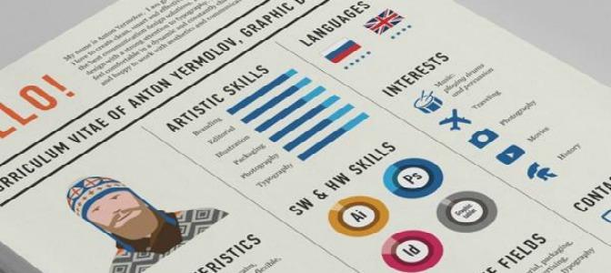 4 webs para hacer un CV creativo