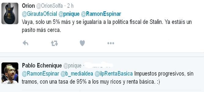 La expropiación de Podemos: un IRPF del 95% para ricos