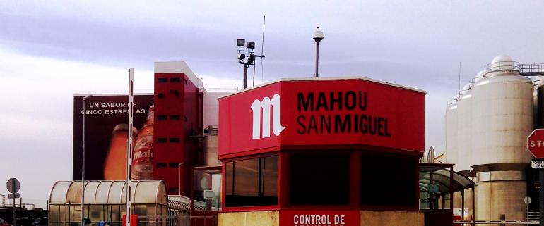 El cierre de bares y restaurantes ahoga a la cervecera Mahou San Miguel