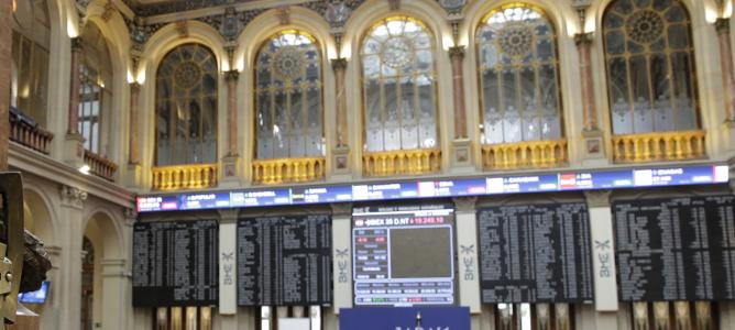 El IBEX sube un 6,18% en su mejor semana desde octubre