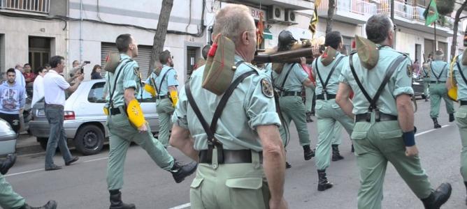 La Legión se rebela y procesionará el Jueves Santo en Cataluña