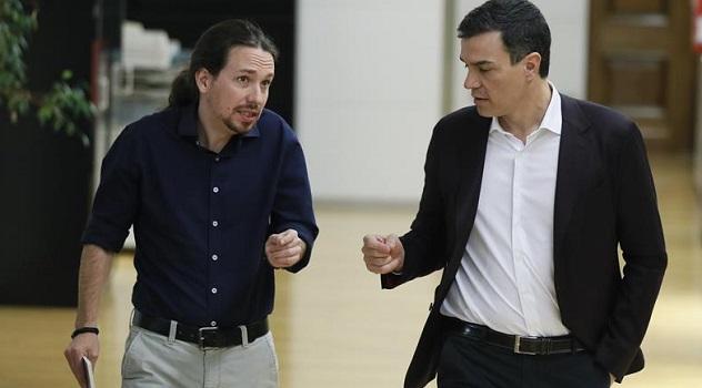 Podemos ofrece al PSOE presentar listas conjuntas al Senado para superar al PP