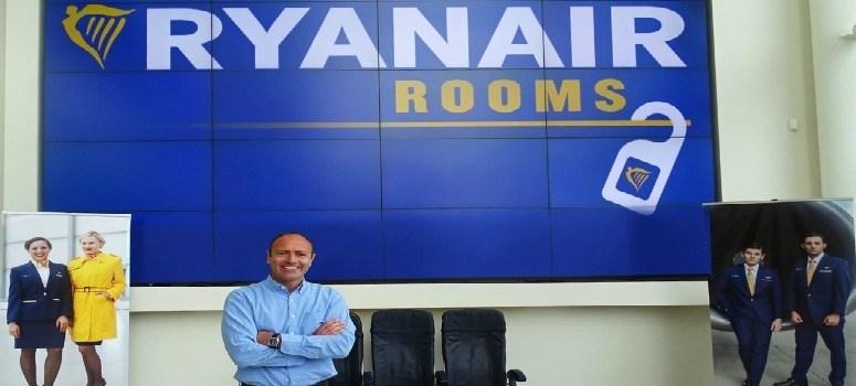 Ryanair se lanza al alojamiento económico