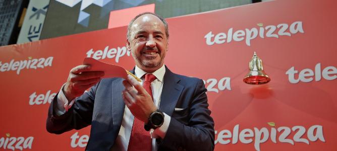 Los accionistas de Telepizza pierden 20 de cada 100 euros invertidos en la OPV