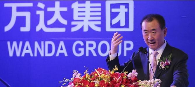 El presidente de Wanda ve 'oportunidades' en el desplome de la Bolsa