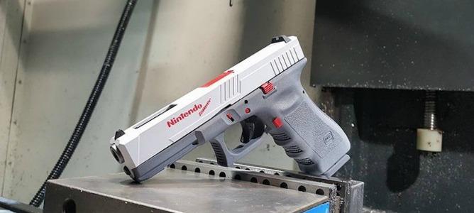 Fabrican una Nintendo Zapper que en realidad es una modificación de Glock