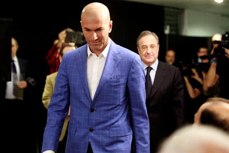 """Florentino Pérez: """"Con Zidane de entrenador del Real Madrid, gana el fútbol"""""""