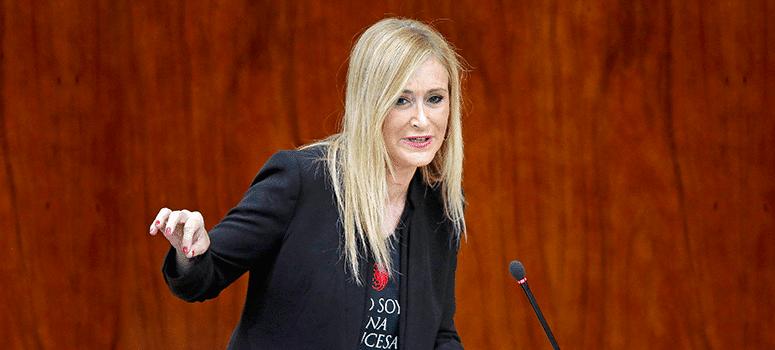 Cifuentes: Los madrileños pagan la sanidad y la educación a los andaluces