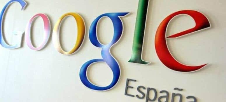 Google Spain tiene un beneficio de 5,3 millones en 2015