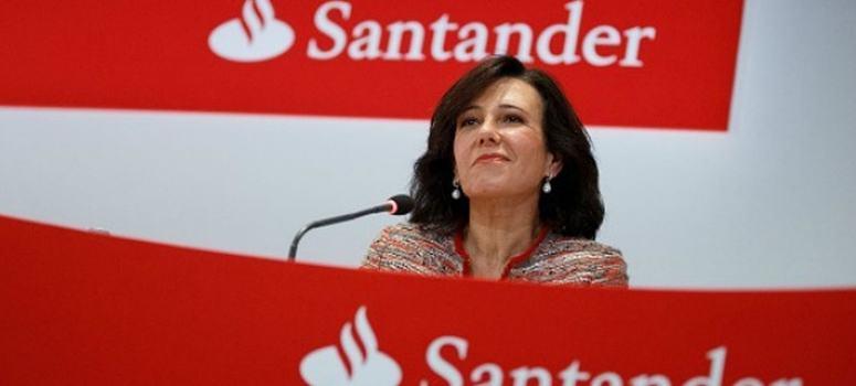 La subida del 7,5% del Santander en la semana lleva al IBEX 35 a zona de máximos de 2019