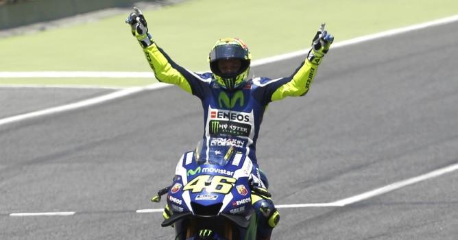 Rossi se impone a Márquez en Montmeló
