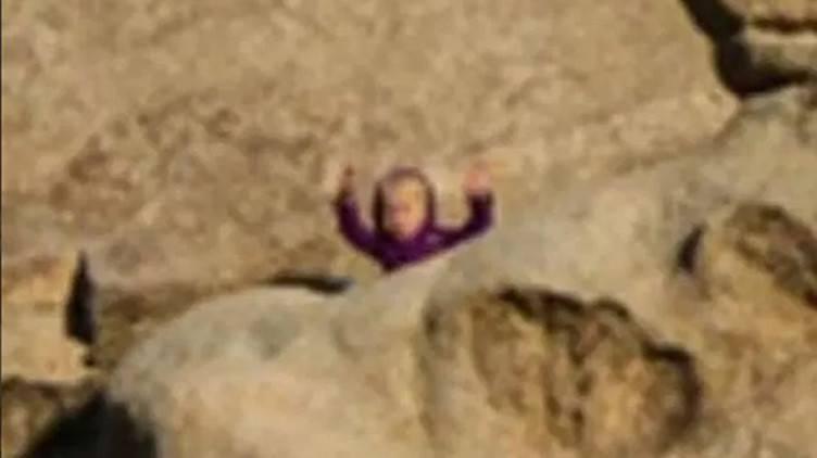 Nuevo desafío de Internet: ¿Puedes ver a la 'niña camaleónica' que saluda a la cámara?