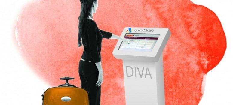 Los turistas cobrarán el DIVA digitalmente en España