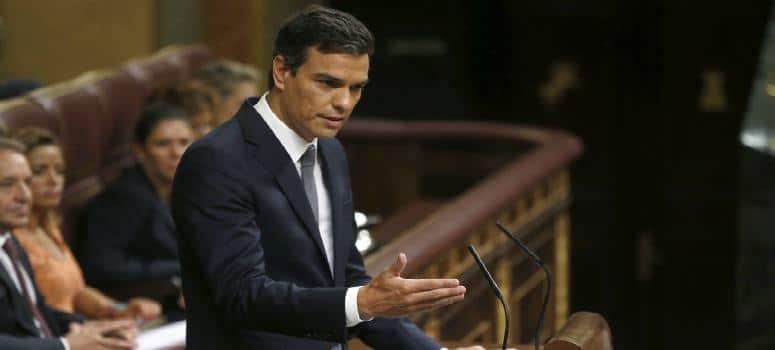 Sánchez insite en un Gobierno con Podemos y Ciudadanos