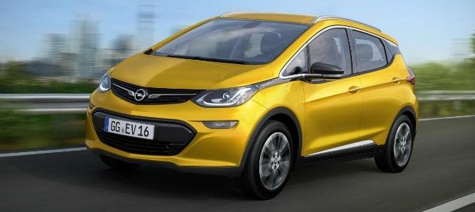 Opel presentará en París el eléctrico Ampera-e