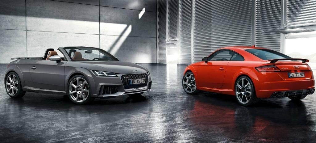 La actualización del Audi TT llega en octubre a España desde 39.550 euros