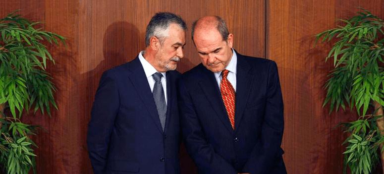 La comisión parlamentaria andaluza culpa a Chaves y Griñán del fraude de los cursos de formación