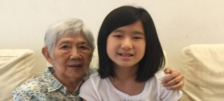 Una niña crea una app para impedir que su abuela con Alzheimer se olvide de ella