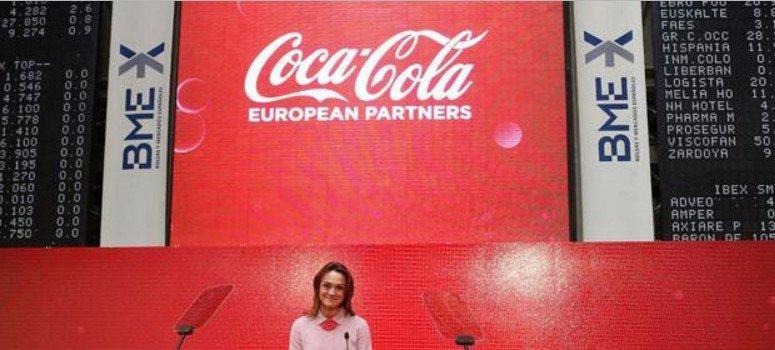 Coca-Cola European Partners gana el doble y pone fecha al dividendo
