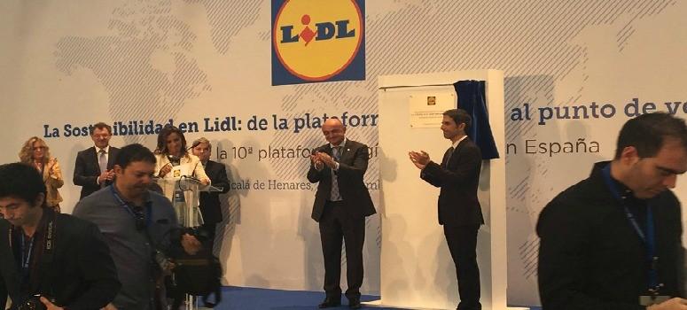Lidl empleará a 275 personas en Alcalá de Henares, su mayor centro logístico de Europa