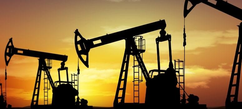 Fuerte descenso del petróleo que se aleja de los 50 dólares