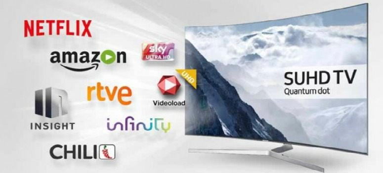Samsung integrará Amazon Video y Netflix