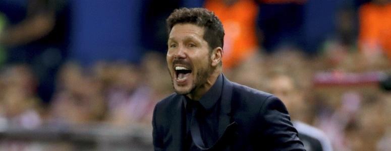 """Simeone: """"Es uno de los mejores partidos que recuerdo aquí"""""""