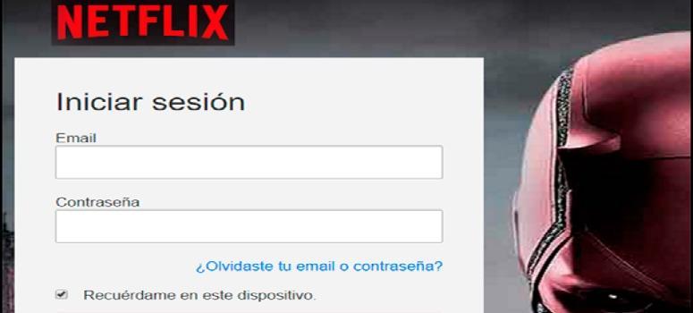 Roban datos bancarios a través de Netflix