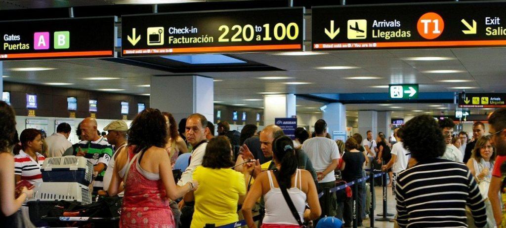 El número de pasajeros de Aena se dispara un 10,8%