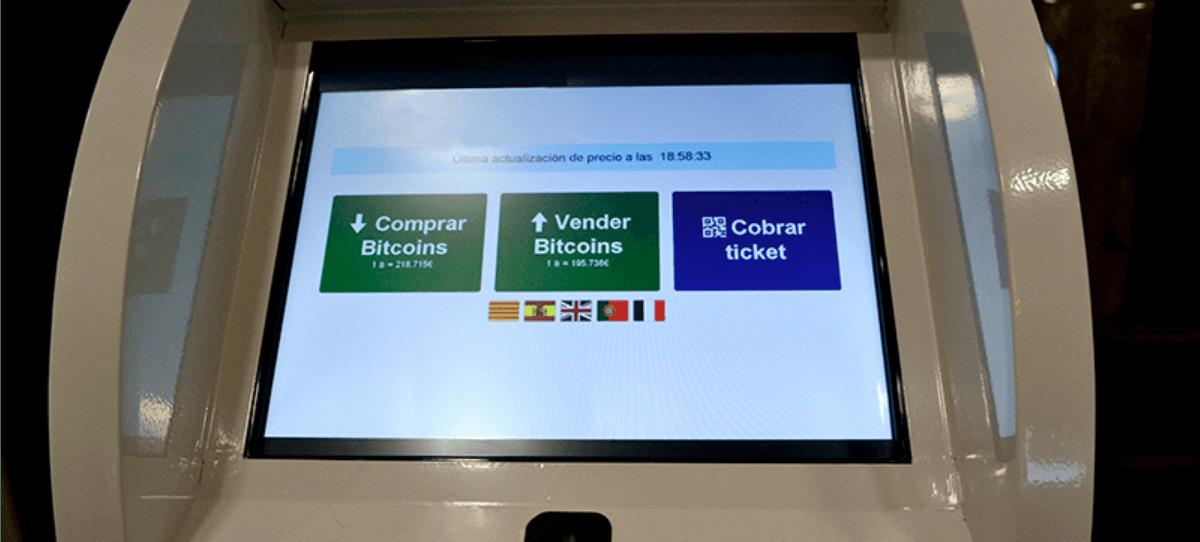 Cajero Bitcoin.