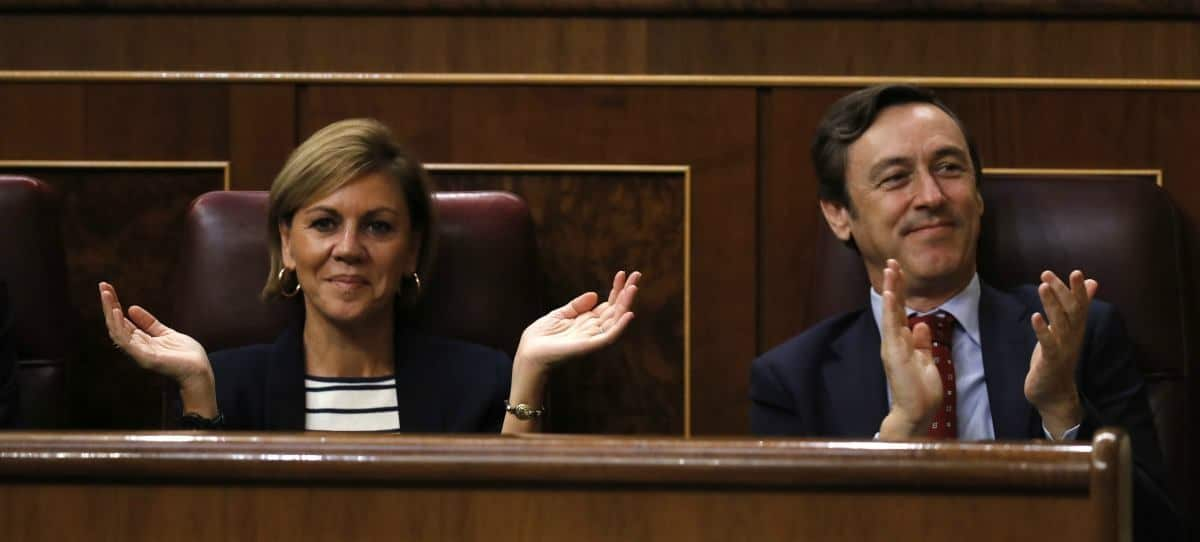 Cospedal llama 'sinvergüenza' a Iglesias