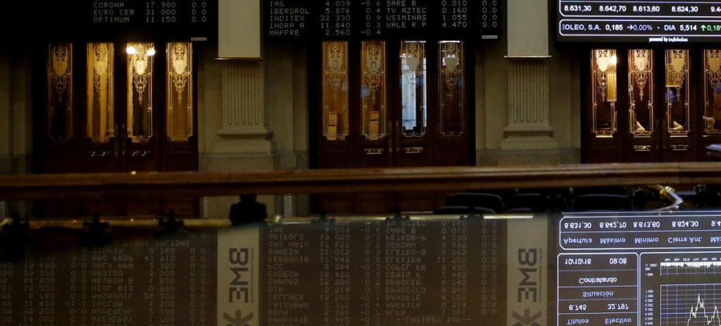 Los grandes valores arrastran al IBEX que aguanta el 8.700