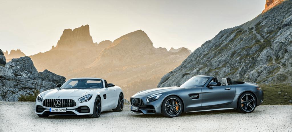 Mercedes-AMG luce el AMG GT Roadster y el AMG GT C Roadster