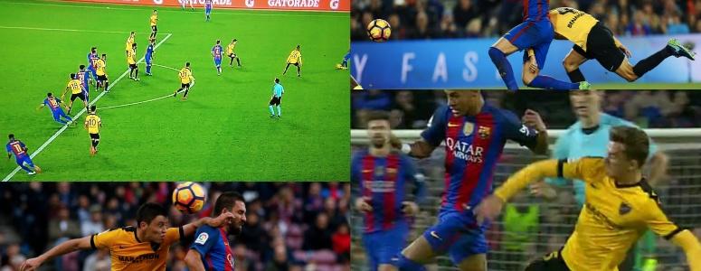 ¿Hubo 'robo' al Barça en el Camp Nou?