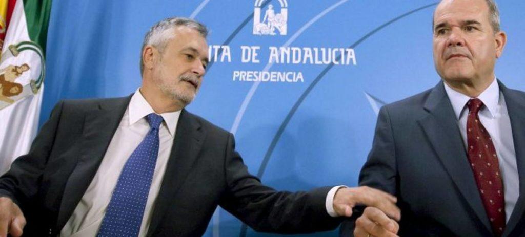 No irán a la cárcel: Chaves y Griñán no serán juzgados por delito de asociación ilícita en el caso de los ERE