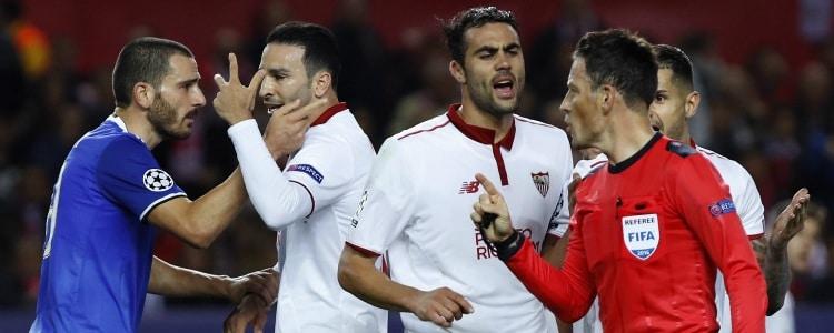 El Sevilla se la jugará en Lyon por culpa de Clattenburg