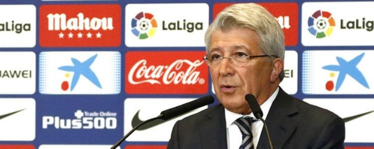 Cerezo: «Simeone es el mejor entrenador»