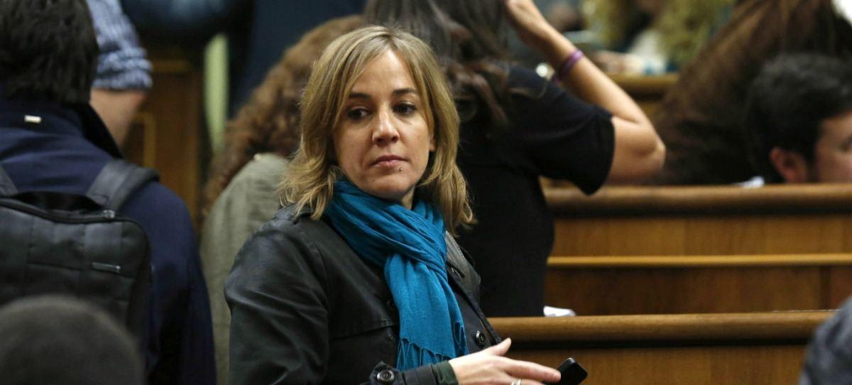 Tania Sánchez, la número dos en la lista de Íñigo Errejón para Madrid