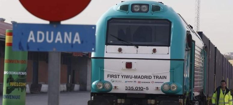 El tren Yiwu-Madrid ha transportado ya 500.000 contenedores en 600 recorridos desde 2014