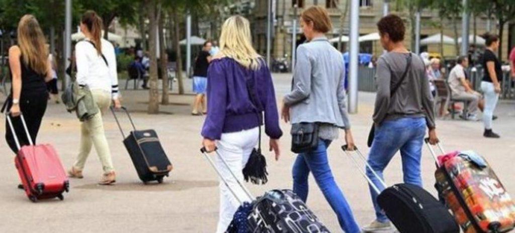 Cada turista deja en España 1.021 euros de media, un 2,3% menos