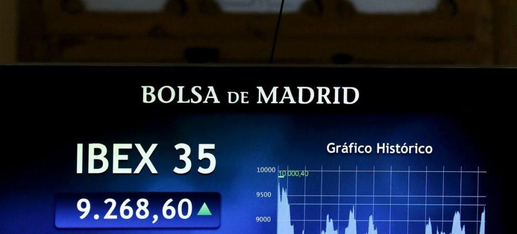 El IBEX 35 supera los 9.300 animada por la banca