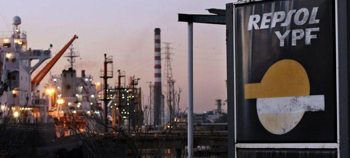 La debilidad del petróleo hace caer a Repsol