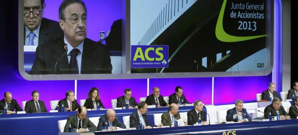 """""""ACS estará presente en todos los grandes contratos de infraestructuras"""""""