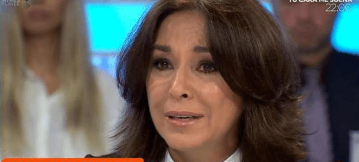 Isabel Gemio rompe a llorar en directo por el caso Nadia