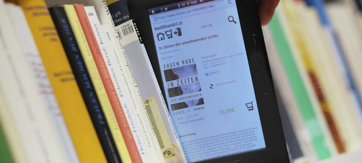 """""""El precio de los libros digitales bajará, como mínimo, un 17%"""""""