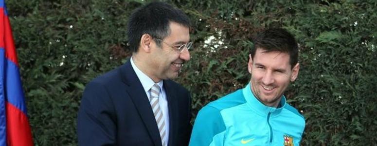 """Bartomeu: """"Nadie está por encima del Barça, incluido Messi"""""""